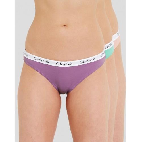 Pack 3 bikini Calvin Klein D1623E