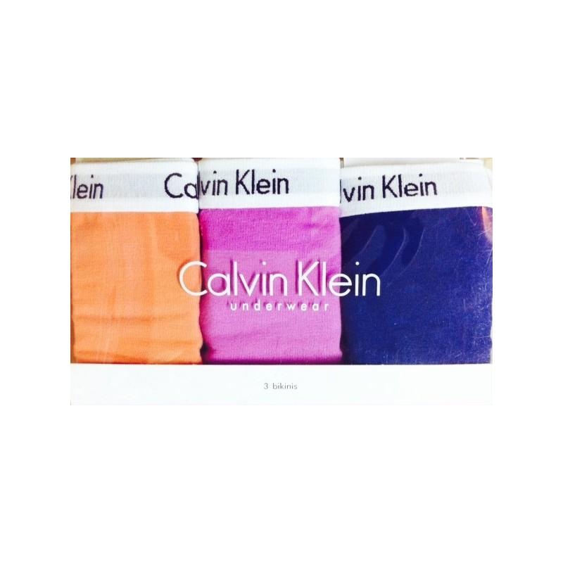 Pack 3 brief Calvin Klein D1623 E