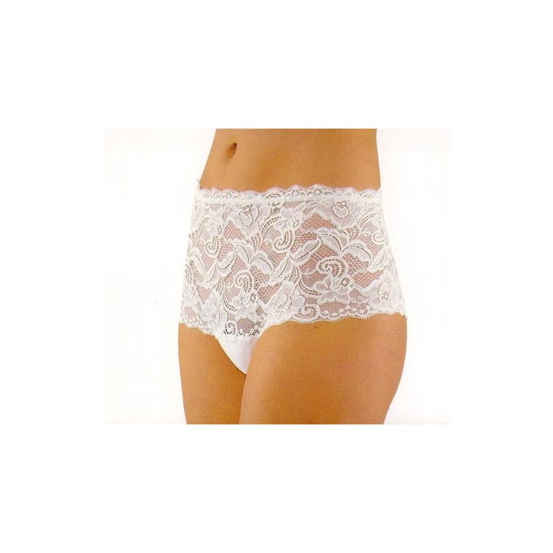 Coquette 109 Womens Asymmetrical Mesh Panty