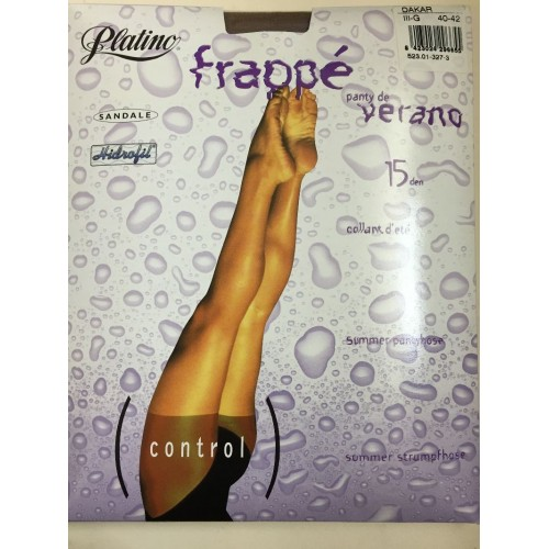 Panty Platino Frappe Estiu