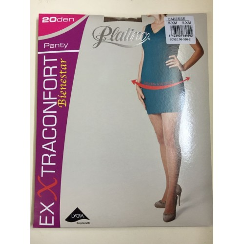 Panty Platino Extraconfort