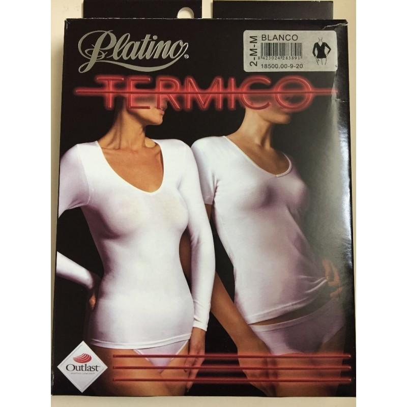 Camiseta Termico Platino