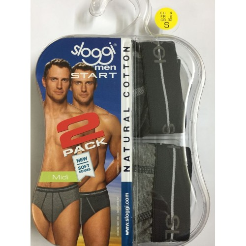 Pack 2 briefs Sloggi men Start