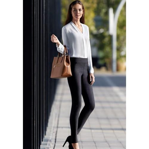 Legging slimmer-azur Janira