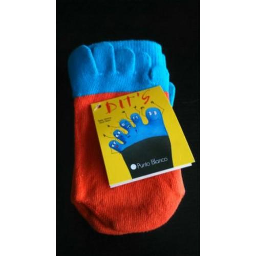 Socks Dedos. Punto Blanco