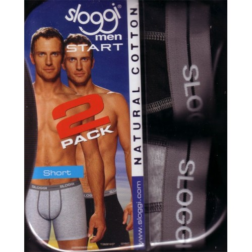 Pack 2 Shorts men Start Sloggi