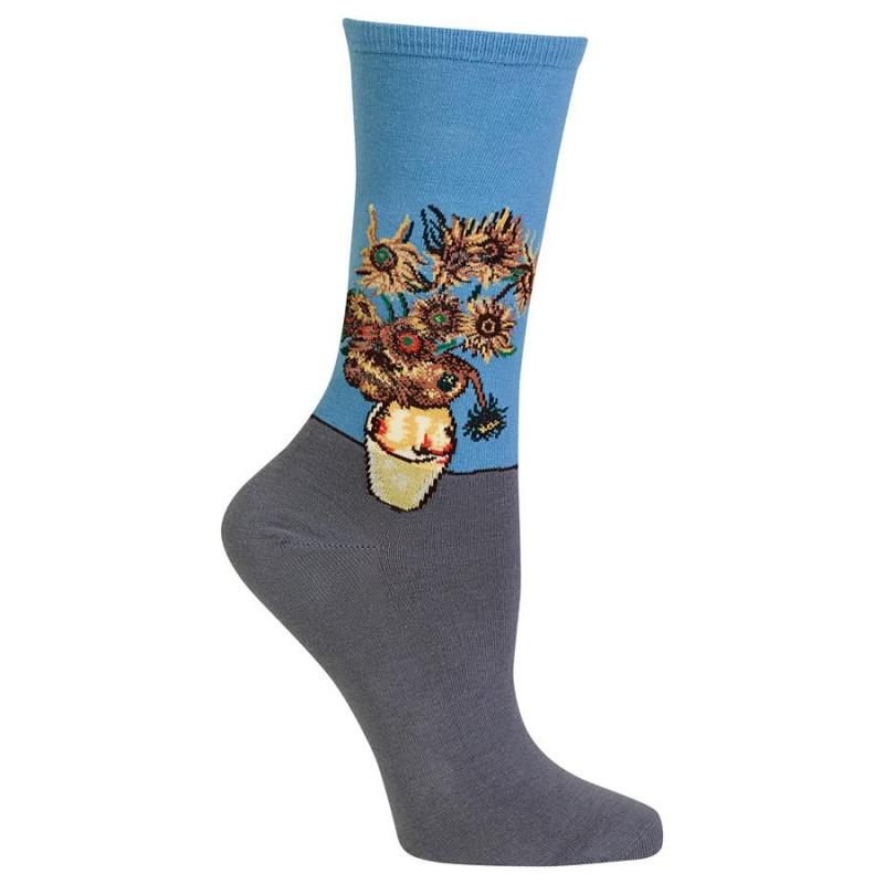 Women Socks Hotsox Girasoles