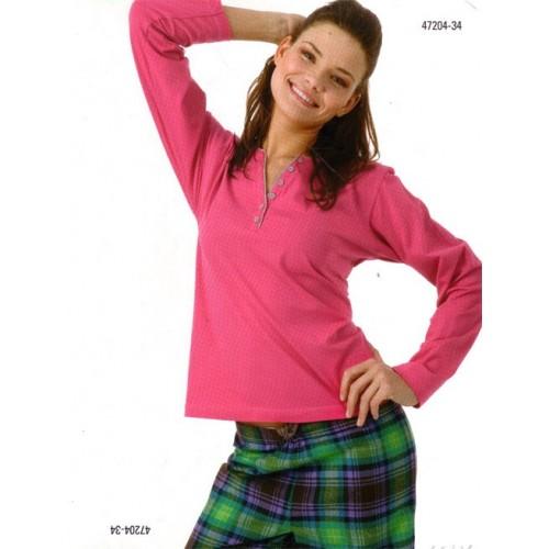 Pijama Dona J&J Brothers 47204-34