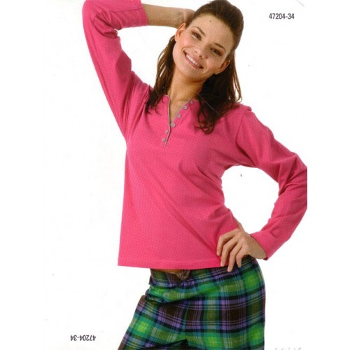Pyjama for lady J&J Brothers 47204-34