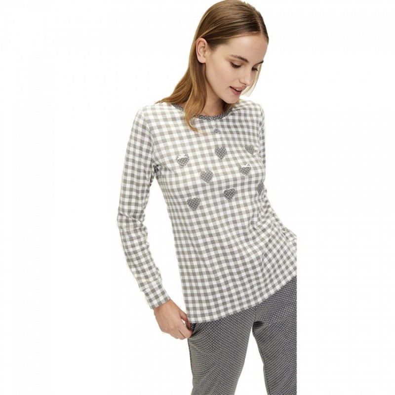 Pijama mujer invierno Noidinotte FA6562