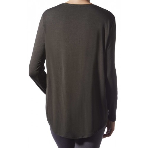 Camiseta M/L Loose Spa-Modal