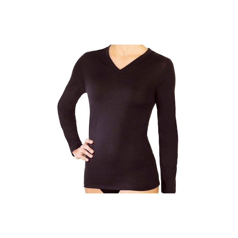 Camiseta M/L Thermo-natural Janira woman 45083