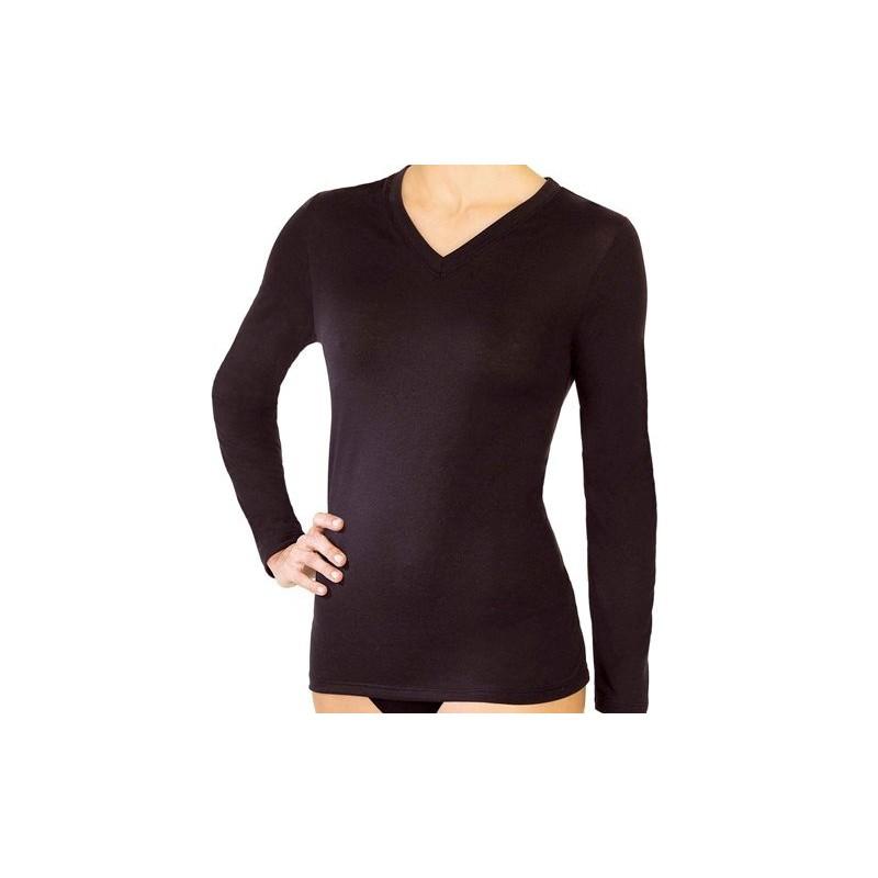 Camiseta M/L Thermo-natural Janira woman 45083